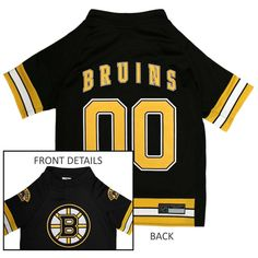 Boston Bruins Pet Jersey NHL clothes for Dog   Cat Sizes XS-XL  PetsFirst ad6858ea2