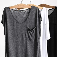 Michael Stars V-Neck Tee with Pocket Stylish Outfits, Cute Outfits, Fashion 2017, Fashion Outfits, Italy Outfits, Stitch Fix Outfits, Style Inspiration, Style Ideas, Street Style Women