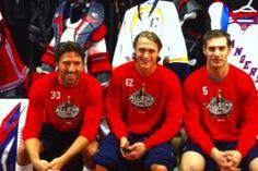 Hank, Hags, and Girardi at the all star game