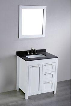 30 Bathroom Vanity 30 Unfinished Mission Hardwood Vanity For
