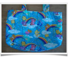 Vintage Care Bears changing bag by Tabitha's Treasure Chest.