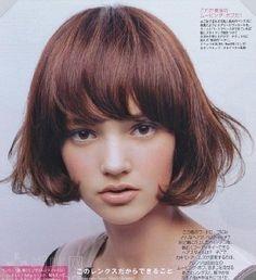 단발머리이신 고민녀에게 추천 할만한 예쁜 단발머리 사진 2