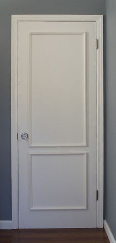 High Quality Brooklyn Two Panel Door Moulding Kit~ Get The Custom, High End