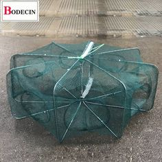 Mesh Fishing Net Tackle Cage Folding Crayfish Catcher Casting Network Crab Shrimp Smelt Eels Traps 8 Holes ❤️ Pin it please on your board Picture Cube, Ku Band, Crab Stuffed Shrimp, Mesh Networking, Steel Bar, Natural Disasters, Fishing Lures, Fishnet, Catcher