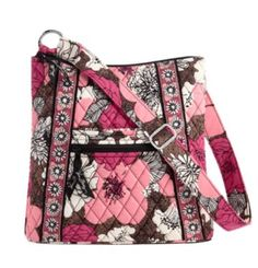 I love Vera Bradley! This bag called The Hipster is my favorite! Best purse purchase ;) Especially for College