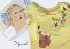 handpainted tshirt with box Hand Painted, Box, T Shirt, Painting, Women, Fashion, Supreme T Shirt, Moda, Snare Drum