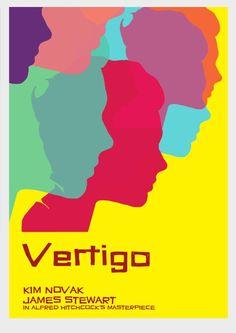 Vertigo Poster - Alfred Hitchcock - test Vertigo Alfred Hitchcock, Hitchcock Film, 1980's Movies, Films, Pebble Painting, Vintage Advertisements, Salman Rushdie, Poster Prints, Posters