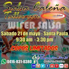 Aparta tu cupo para este SUPER TALLER DE SALSA CALEÑA #Rumbacana #BailaParaDivertirte #Salsa #SalsaColombiana