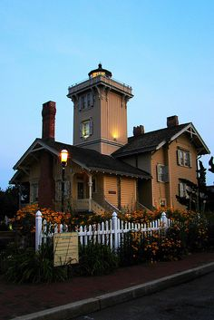 Hereford Inlet Lighthouse, North Wildwood, NJ.