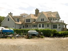 Shingle Style Waterfront by Alisberg Parker