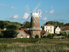 Cley windmill from the coastal footpath