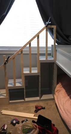 TROFAST stairs guard rail