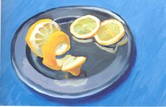 Hockney | Peeled Lemon with Slices | 1995