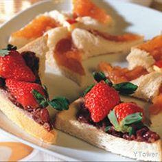 草莓紅豆派食譜 - 西式點心料理 - 楊桃美食網 專業食譜