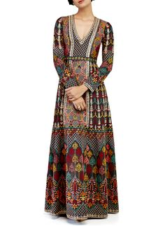 Indian Fashion Designers - Anita Dongre - Contemporary Indian Designer - The Raisa Gown - AD-AW17-BDL-FW17RR025G