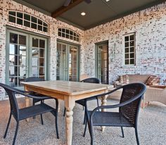 I want to mortar wash my exterior brick to look just like this!! Love it!!
