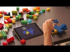 This movie shows how Lego bricks are adapted and used to transfer designs into real-time digital files with this prototype system by London studio Gravity. S...