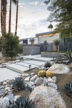 팜스프링 스, 캘리포니아에있는 O2 건축술에 의하여 능선 Vista