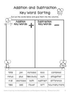 math worksheet : 1000 ideas about word problems on pinterest  maths task cards  : Keywords In Math Word Problems Worksheet