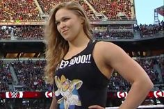 Brock Lesnar's UFC Return Could Send Ronda Rousey To Wrestlemania Wrestling Superstars, Women's Wrestling, Wrestling Stars, Brock Lesnar, Ronda Jean Rousey, Ronda Rousey Wwe, Rowdy Ronda, Catch, Ufc Women