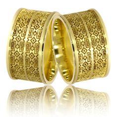 Verighete din aur galben cu motive traditionale romanesti Cojocarita Aur, Napkin Rings, Rings For Men, Gold Rings, Finger, Satin, Jewellery, Women, Men Rings