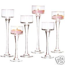 NEW 24 bulk Long-Stem Glass Tealight Candleholders - $50 including shipping