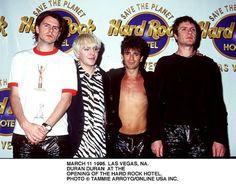 Duran Duran at opening of Hard Rock Hotel