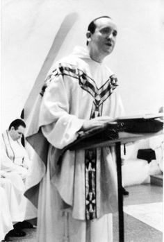 An undated photo of Bergoglio delivering a sermon. Clarin/Reuters.