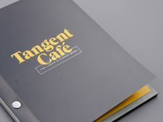 Tangent Café is a newly established café and bar serving craft beer and hosting local music events. The owners, Nate and Linda, are deeply connected to the East Vancouver neighbourhood—a diverse and community of creative people—which Tangent serves. The c…