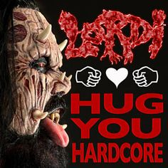 I just used Shazam to discover Hug You Hardcore by Lordi. http://shz.am/t324707448