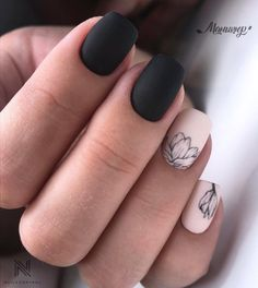-Acrylic short square nails design for summer nails, Short square nails color ideas, Natural gel short square nails design, Pretty and cute acrylic nails design Square Nail Designs, Nail Art Designs, Nails Design, Xmas Nail Designs, French Nail Designs, Cute Nails, Pretty Nails, Hair And Nails, My Nails