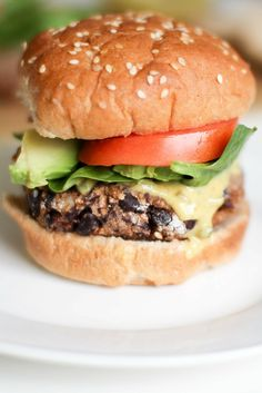 Vegan Black Bean Couscous burgers are really easy and have a delicious burger sauce. You don't have to wait an hour for rice to cook either. Couscous only takes 5 minutes!