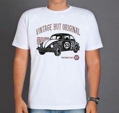 Camiseta Fusca Vintage - Compre online: www.machinecult.com.br Enjoy The Ride, Biker Shirts, Cult, Motorcycle Clubs, Harley Davidson News, Boy Fashion, The Originals, Boys, Mens Tops