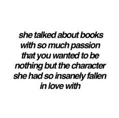 Elena talking about Melanie's love of books (Melanie Gable)