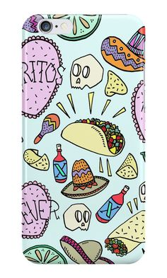 A Mexican fiesta themed phone case, $25. | 27 Things Every Self-Proclaimed Burrito Lover Needs Right Now