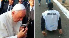 """El Papa Francisco permaneció tres días en Paraguay, la última escala de su gira por Sudamérica. Desde que llegó al país y luego del caluroso recibimiento en el aeropuerto internacional Silvio Pettirossi, manifestó que se sentía en casa y llamó a Paraguay el """"corazón de Sudamérica""""."""