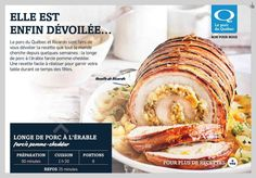 - La Presse+ Pork Dishes, Biscuits, Keto, Drinks, Cooking Recipes, Pork Loin, Ricardo Recipe, Main Course Dishes, Crack Crackers