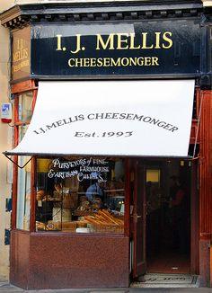 I.J. Mellis Cheesemongers | Edinburgh