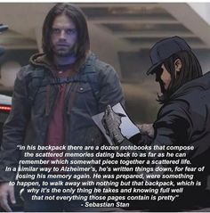 What's in Bucky's backpack