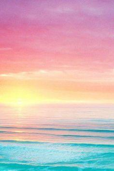 sunset behind the ocean wallpaper Sunset Iphone Wallpaper, Ocean Wallpaper, Summer Wallpaper, Pastel Wallpaper, Cute Wallpaper Backgrounds, Pretty Wallpapers, Aesthetic Iphone Wallpaper, Nature Wallpaper, Galaxy Wallpaper