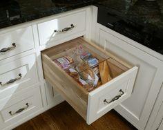 Bread Drawer Kitchen Design Ideas & Remodel Pictures | Houzz