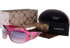 Pink Coach Sunglasses <3
