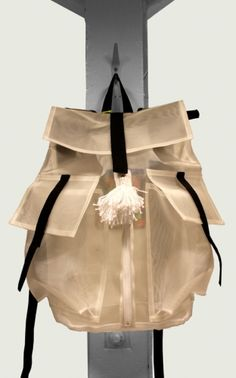 SN. DJ See Through Back Pack $271.04