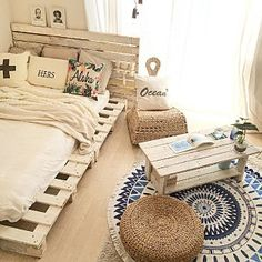 26 bohemian minimalist with urban outfiters bedroom ideas 15 Room Ideas Bedroom, Bedroom Decor, Bedroom Designs, Urban Outfiters Bedroom, Aesthetic Room Decor, Minimalist Bedroom, Pallet Furniture, Wooden Pallet Beds, Dream Rooms