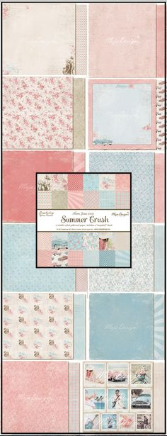 Maja Design New Collection Summer Crush is in store now and shipping at http://www.therubberbuggy.com/summer-crush/ $1.79 each