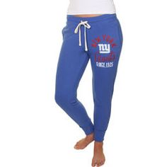 53590628d30 Junk Food New York Giants Women s Royal Blue Sunday Sweatpants Blue Sunday