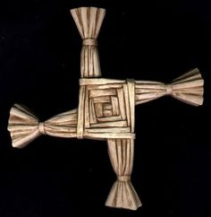 The Brigid's Cross is much older than Christianity. It is said to keep evil, fire and hunger from the homes where it is displayed. According to ancient Irish traditions, the spiral of the Brigid cross invokes the North Star and the pattern that the Big Dipper makes in the sky over the course off a year. As the night sky turns around the North Star, the Big Dipper turns through the seasonal year like the hand of a clock.