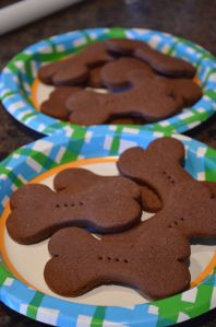 Lady and the Tramp movie night, (Tramps Treats) Countdown to disney with Movie night Monday themed meals too. Madie and Aiden loved the cookies.