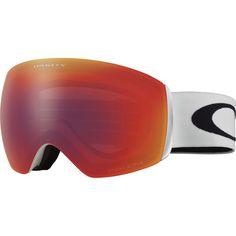 Oakley - Flight Deck XM Prizm Goggle - Matte White/Prizm Torch Iridium
