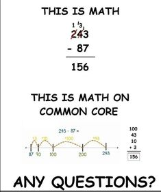 Math on Common Core